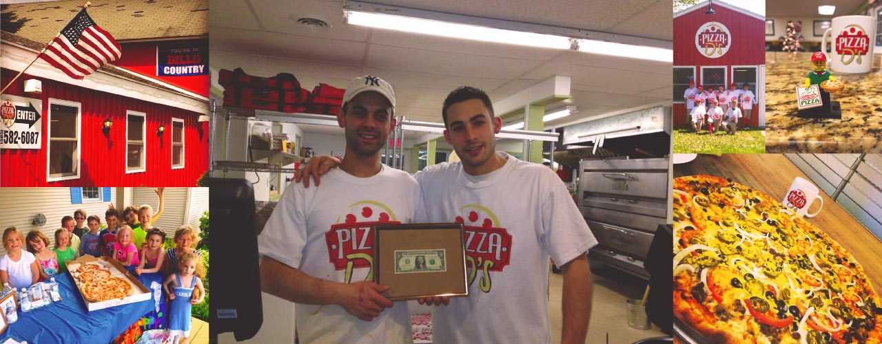 Pizza D's in Mendon (Rochester), NY offers the best in specialty pizzas, wings, subs, and more. Enjoy dine in, take out and delivery to Pittsford, Victor and more.