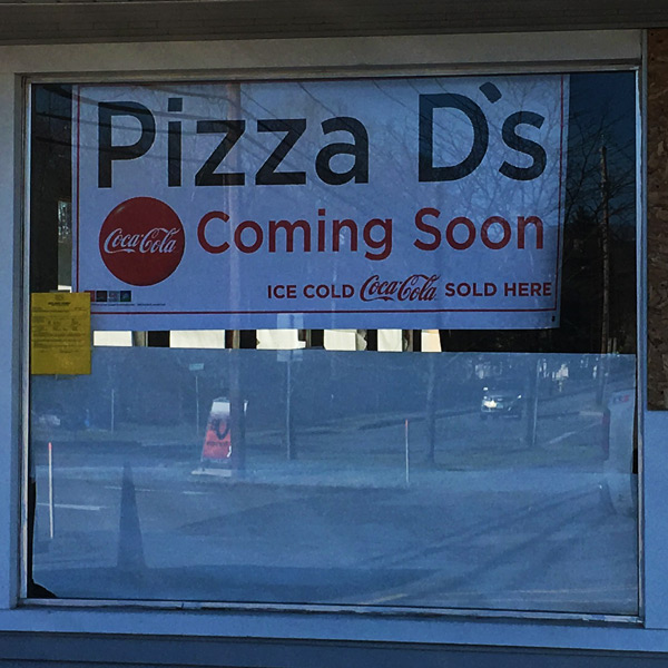 Pizza D's Victor Coming Soon! | Pizza D's Pizzeria in Rochester (Mendon and Victor), NY