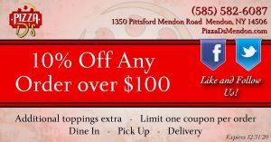 10% Off Deal (Mendon)