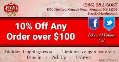 10% Off (Mendon)