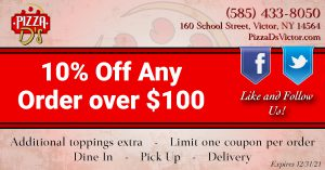 10% Off (Victor)